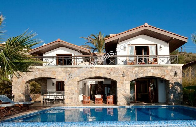 Seafront Kalkan Villa Private Pool 4 Bedrooms for sale