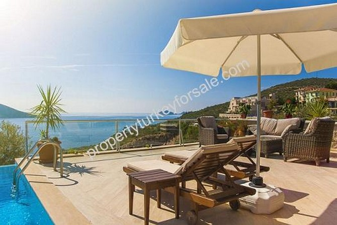 Excellent Terrace Area with Excellent Sea View
