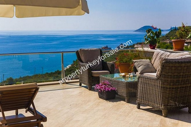 Terrace Area with Excellent Sea View