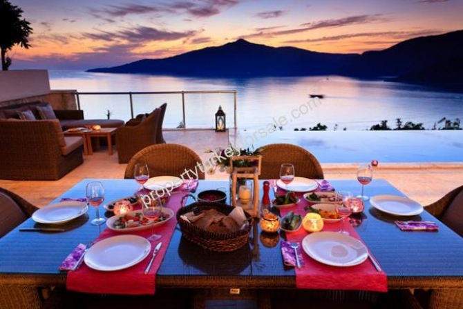 Kalkan Kisla Villa with Excellent View