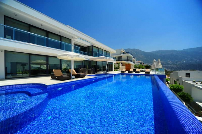 Luxury Villa with Self Contained Apartment in Kalkan