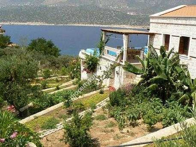 Rustic Kas Peninsula villa with large private garden and perfect views