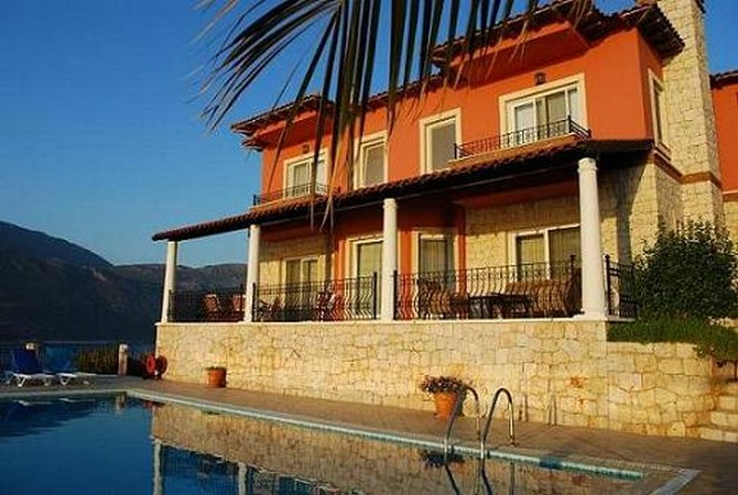 Stunning sea views, large pool and terraces to enjoy