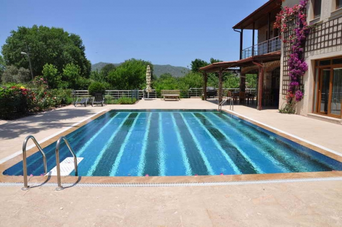 Magnificent Country House In Kayakoy Fethiye