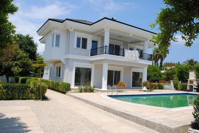 Luxury Kemer villa with mountain view