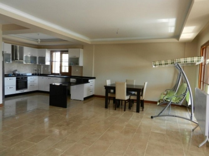 Kusadasi Villa for sale Open plan living area