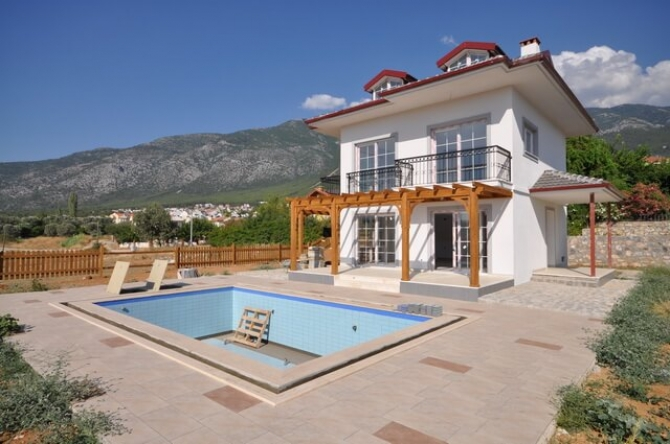 Modern brand new detached Ovacik villa