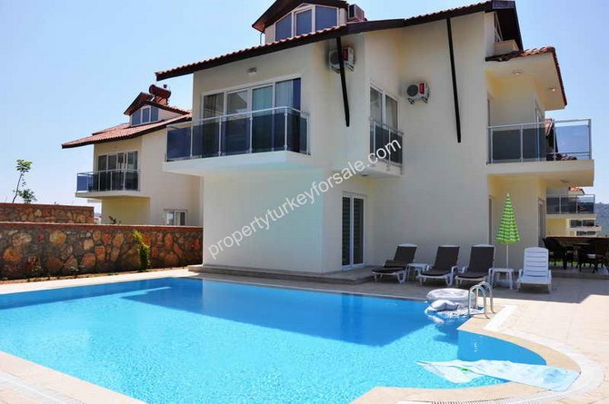 3 Bedroom Ovacik Villa with Private Pool