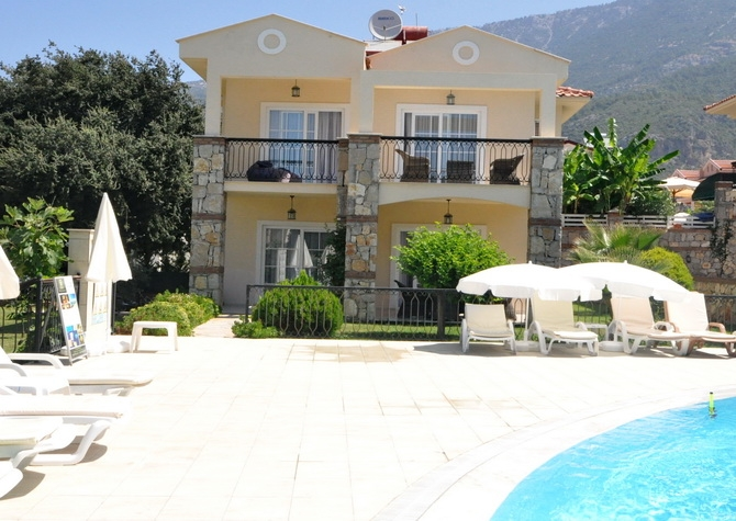 Stylish 3 Bedroom Villa in Popular Ovacik Fethiye