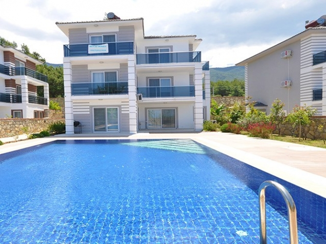 Fully Furnished Triplex Villa in Peaceful Ovacik