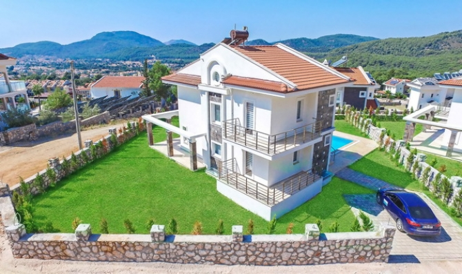 Luxurious Ovacik Villa With Turkish Bath, Sauna and Fitness