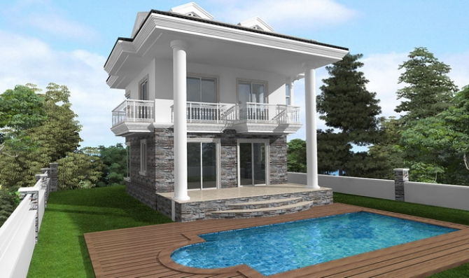 Brand New Triplex Villas with Sea Views