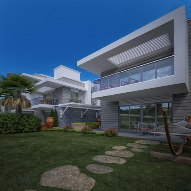 Reserve your modern home in Side Antalya now