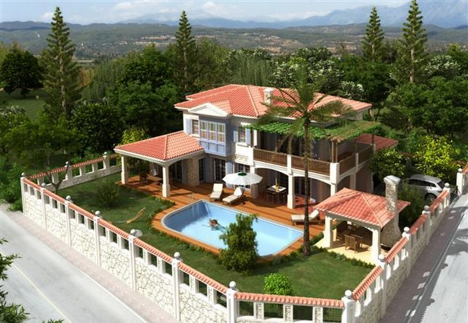 Spacious Side Villa Large Pool 4 Bedrooms for sale