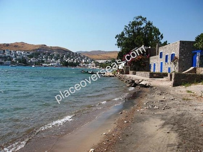 beach plot in bodrum akyarlar