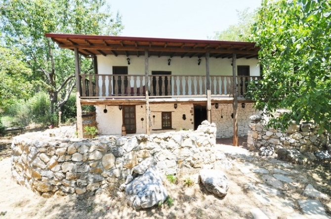 Two Storey Stone House and Bungalow - Nif Arpacik