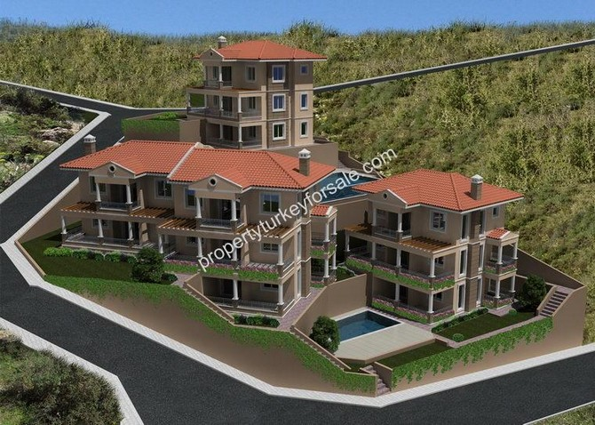 Off Plan 3 Bedrooms Uzumlu Villas
