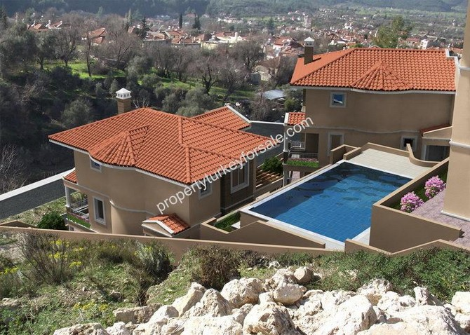 Attractive Uzumlu Villa Mountain Views 3 Bedrooms