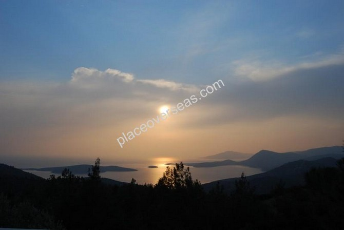 Sea View Stone House Bodrum 10000m2 plot