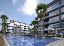 Terrace Apartments in Lara Antalya 