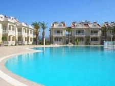 Apartment with pool close to seafront in Calis Fethiye