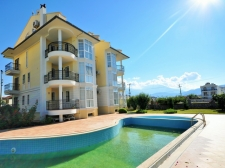 Duplex 3 Bedroom Apartment With Panoramic View in Calis