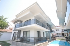 Brand new spacious duplex for sale in residential Calis
