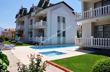 Calis 3 Bedroom Duplex Apartment with Mountain Views