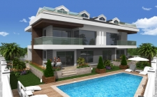 Four Bedroom Sea View Apartments in Calis