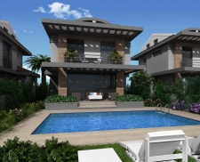 Fabulous New Villa Project Close to Calis Beach