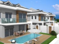Off-Plan Exclusive Villas In Calis For Sale