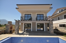 Contemporary Calis villas with gardens and private pools