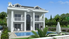 Near to Completion Four Bedrooms Villa in Ovacik