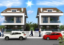 2 x 4 Bed Detached Villas with Private Pool