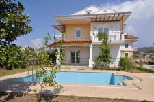Detached Villas with Private Pools in Calis Fethiye