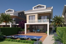 Exclusive Calis Villas in a Central Location