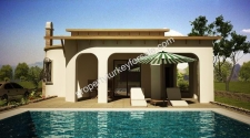 Spacious Didim Bungalow 3 Bedrooms with Private Pool