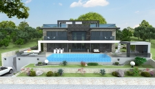 Luxury 5 Bedroom Villa With Sea View in Faralya