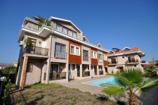Three Bedroom Duplex Apartment With Swimming Pool in Fethiye
