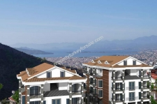 Off Plan Sea View Apartments in Fethiye with Shared Pool