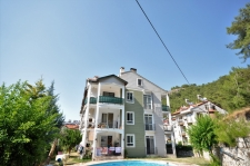 Spacious Deliktas Fethiye Apartment with Mountain Views For Sale