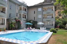 Large Furnished Apartment with Pool in Fethiye Town