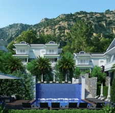 Luxury Gocek Apartments With Sea View