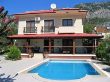 3 Bedroom Detached Villa with Swmimming Pool in Gocek