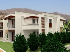 Elegant Apartments in Gumusluk Near the Sea