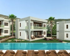 Superbly Created Luxury Apartments in Gumusluk centre