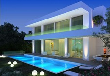 Contemporary Gumusluk Villa Near Beach 4 Bedrooms