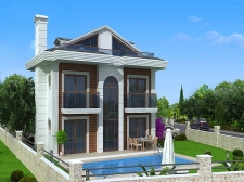 Brand New Villas Located in Peaceful Hisaronu