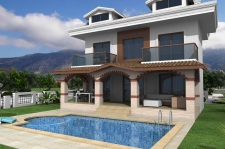 New Project Detached Villas in Ovacik Fethiye