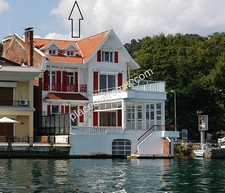 Istanbul Yali for Sale on Bosporus European 8 Bedrooms